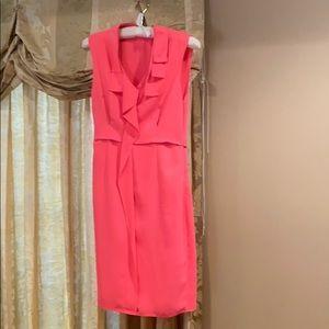 Tahari size 4 side zip dress